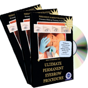 How To Perform The Ultimate Permanent Eyebrow Procedure Dvd cover