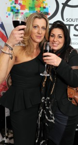 Katy and Sally Gunnell At Woman of the Year Awards