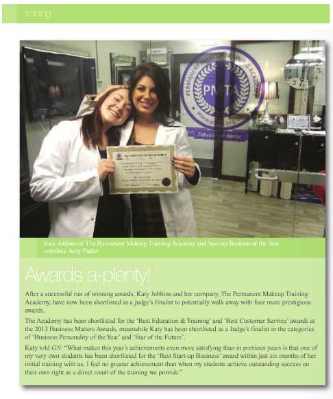 Awards Feature in Guild News Oct 2013 copy