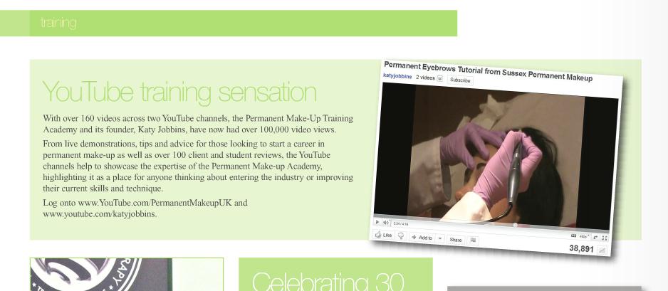 Katy Jobbins PMTA Guild News Calls her a YouTube Training Sensation