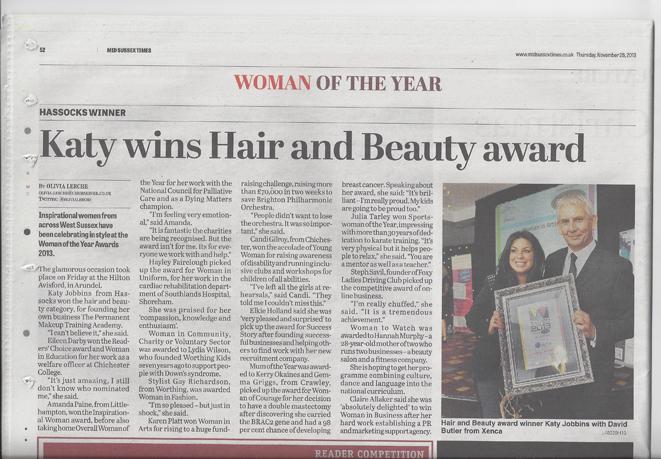 Katys Award Win Makes Headline News