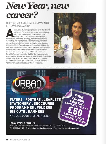 New Year New Career Salon Magazine Editorial