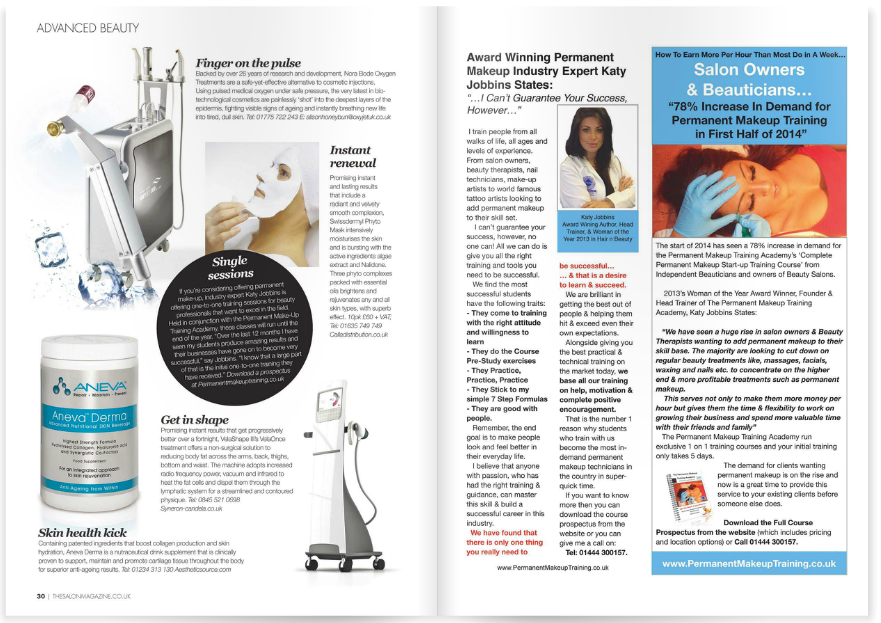 PMTA Featured in The Salon Magazine July 2014