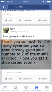 Student Amy Gets Thank You Message From Client
