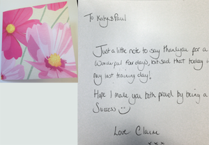 Permanent makeup training academy katy jobbins student thank you thank you card messages trainee thankyou card 2 m4hsunfo