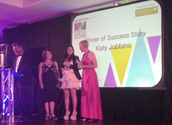 Katy Jobbins Wins Sussex Woman of the Year Success Story