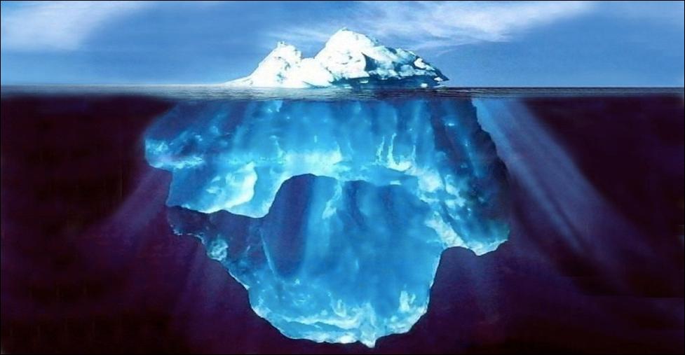 the full iceberg