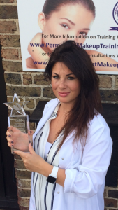 Katy Jobbins - Permanent Makeup Training Academy - Global Business Excellence Award Winner