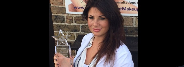 Katy Jobbins Global Excellence Business Award Winner