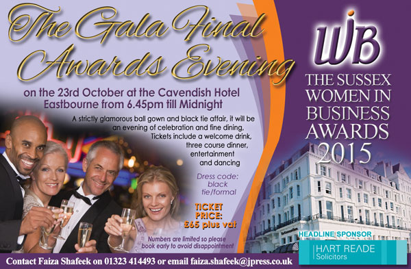 Sussex Woman in Business Awards Gala Event