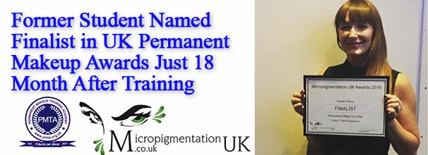 Natalie Named Finalist In UK Permanent Makeup Awards