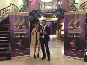 katy-paul-entrance-to-business-woman-awards