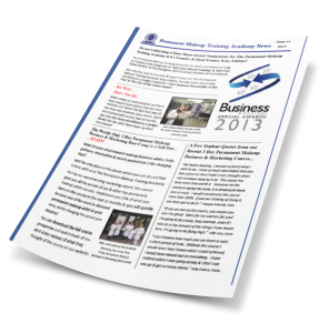 Newsletter Issue 15 3d cover
