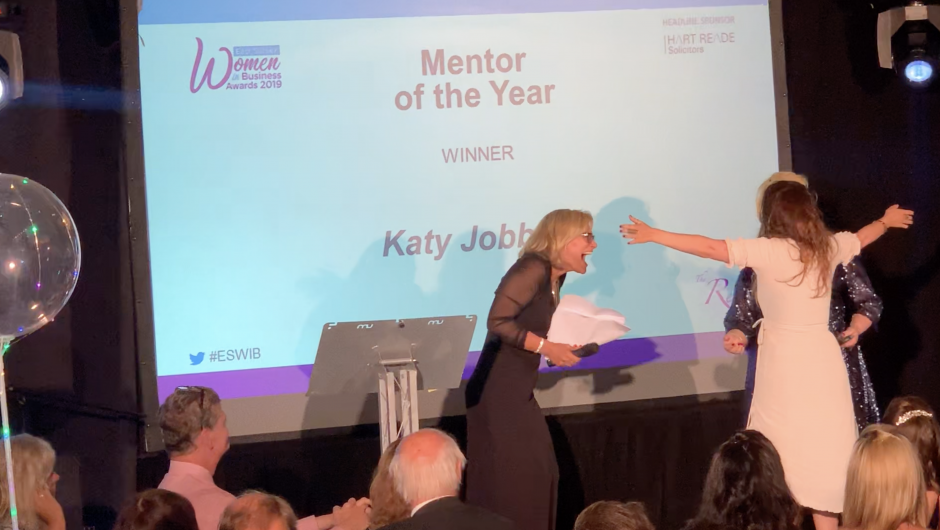 Katy Jobbins Named as 2019 Mentor of the Year