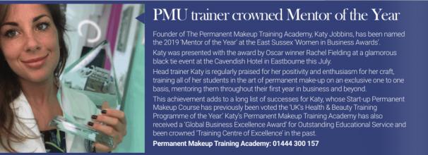 Katy Jobbins Mentor of the Year 2019